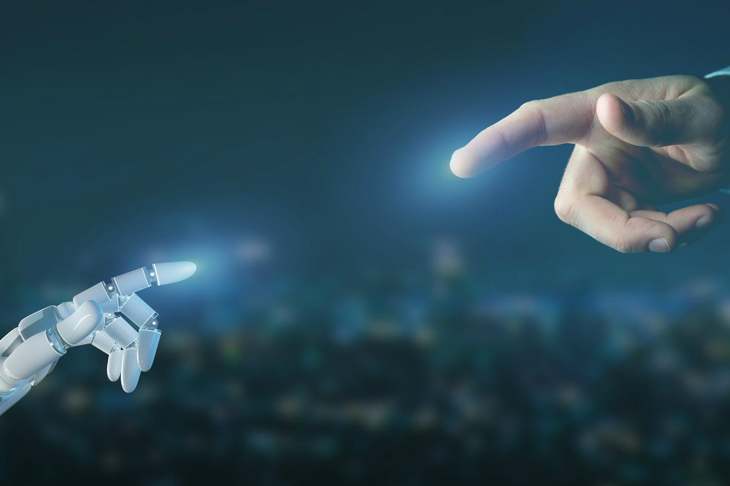 Robot Uomo algoritmo